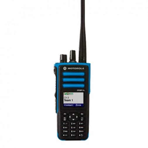 DP4801 ATEX - Portatif numérique 1000 canaux PTI, Atex, GPS - DP4801 ATEX