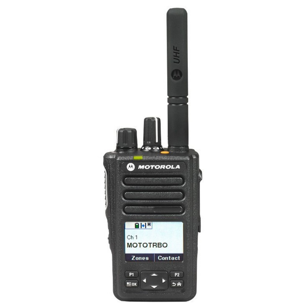 """DP3661e - Portatif analogique ET numérique DMR avec écran et clavier, compact 1000 canaux avec GPS et PTI.      Ce talkie fait partie des nouvelles séries """"... - DP3661e"""